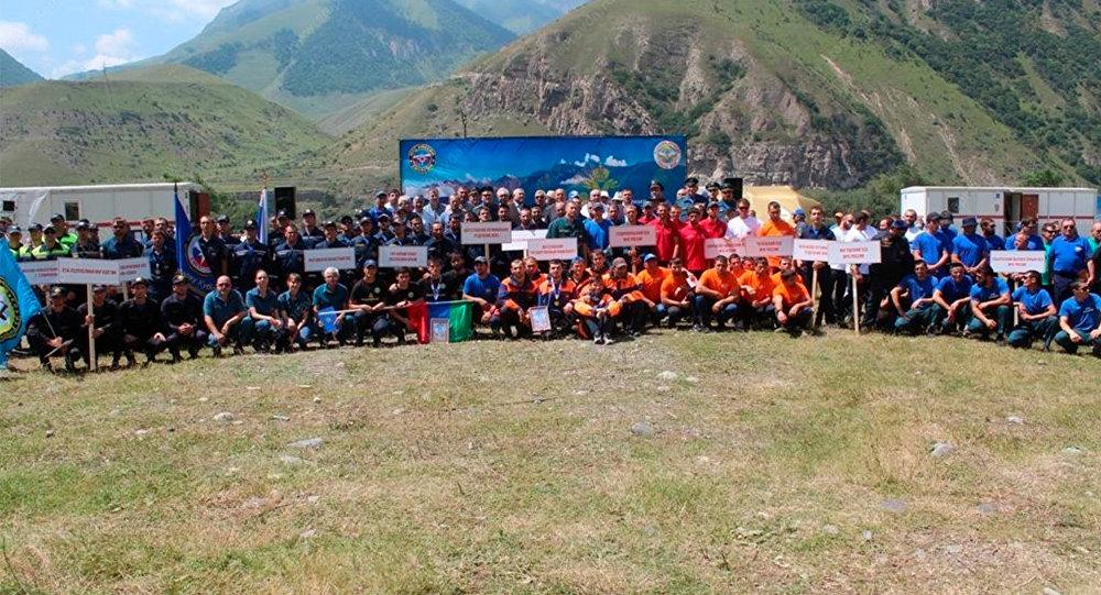 Cотрудники экстренных служб изСеверной Осетии стали третьими на«Кубке Кавказа»