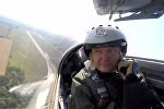 Порошенко пролетел на истребителе МиГ-29