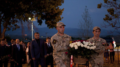 9 годовщина войны в августе 2008 года