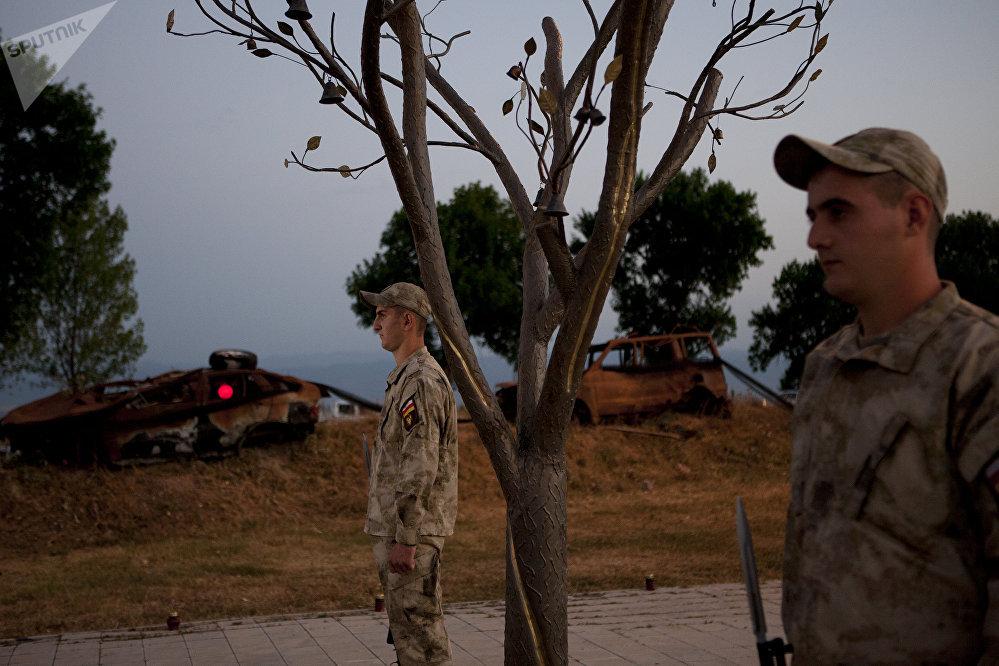 9 годовщина войны августа 2008 года.