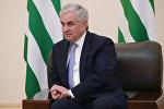 резидент Республики Абхазия Рауль Хаджимба