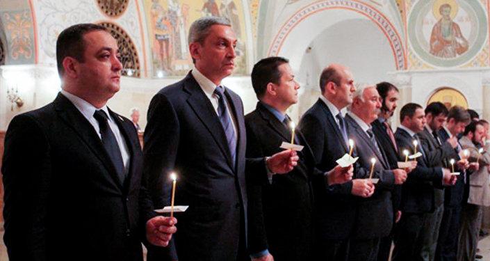 В Москве почтили память жертв вооруженного конфликта в Южной Осетии 2008 года