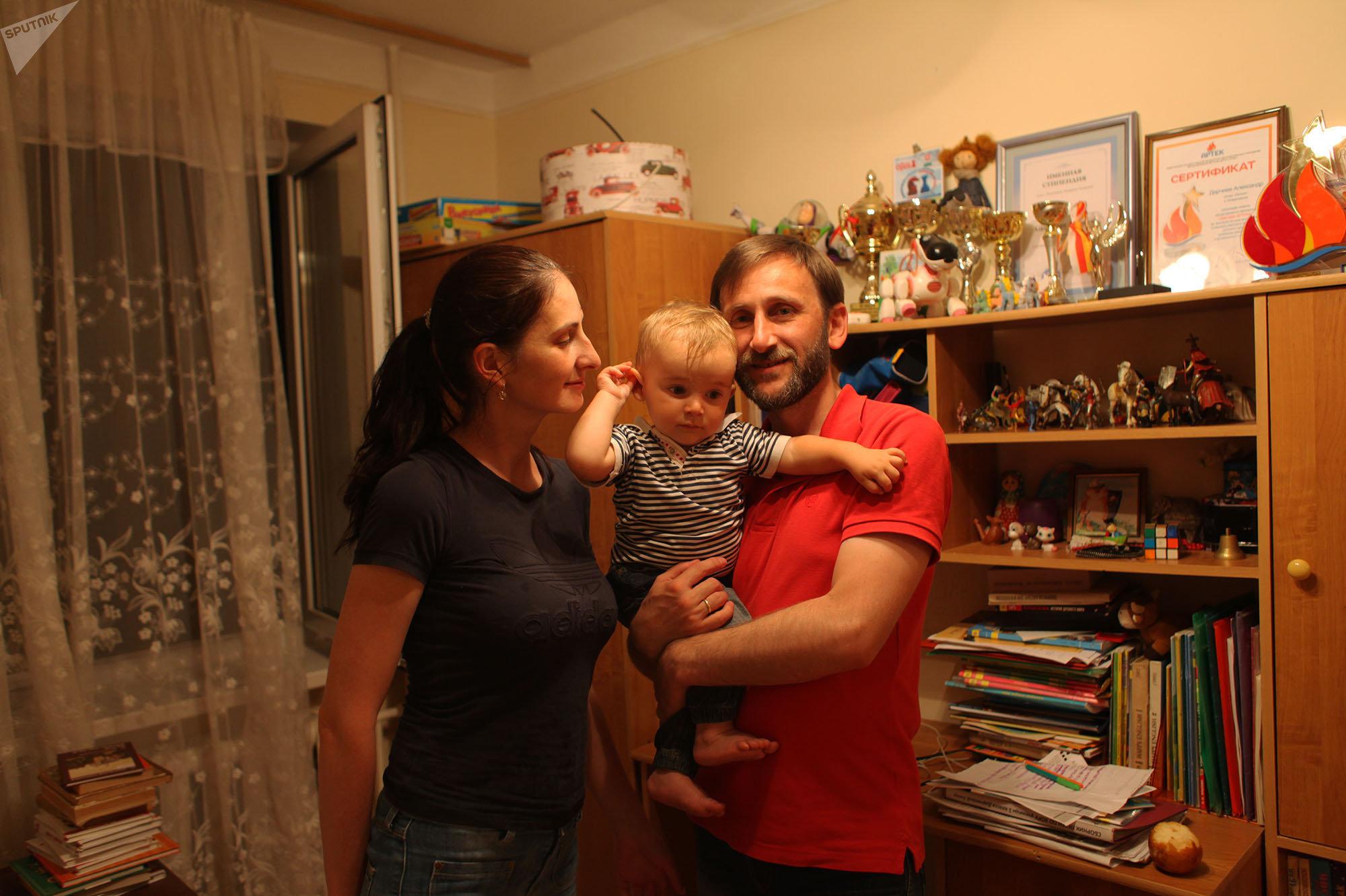 Семья Дарчиевых