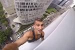 Россиянин снял свое восхождение на небоскреб в Мехико на GoPro