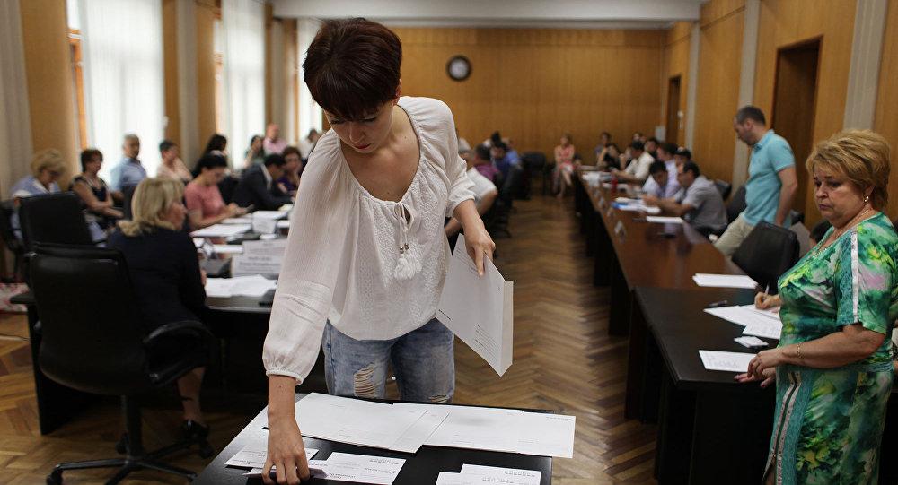 Заседание ЦИК Северной Осетии