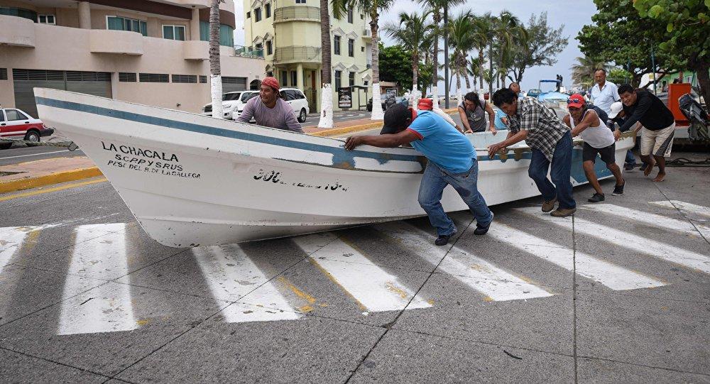 На Мексику обрушился ураган Франклин