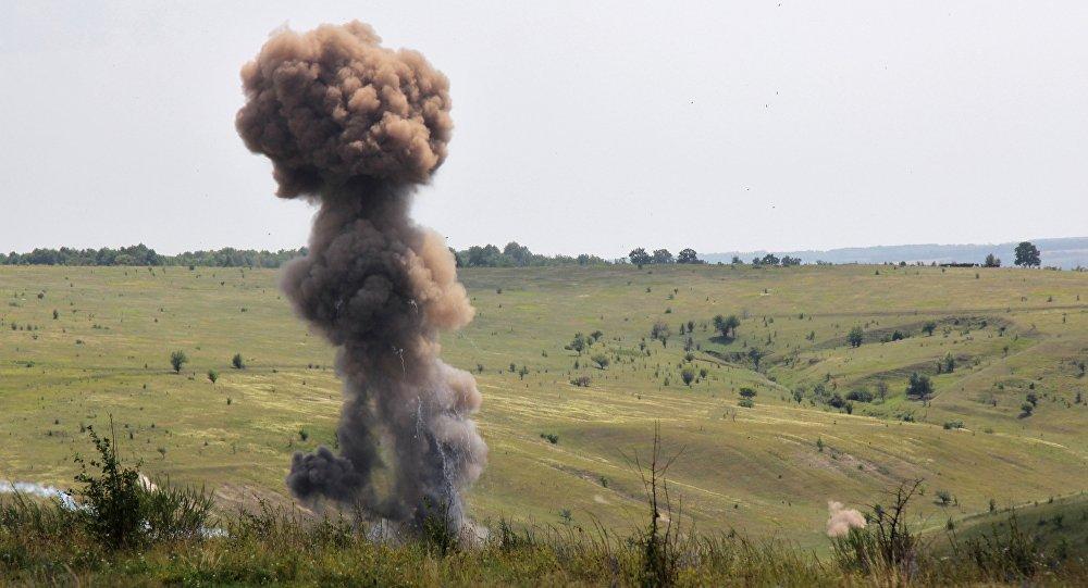 Уничтожение боеприпасов времен ВОВ