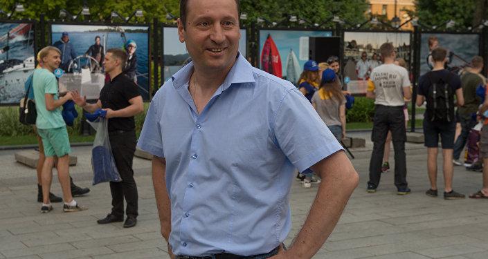 Руководитель проекта Маяки дружбы. Башни Кавказа Руслан Гусаров