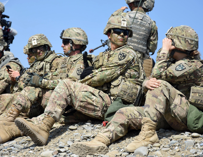 Международные военные учения Достойный партнер 2017 в Грузии