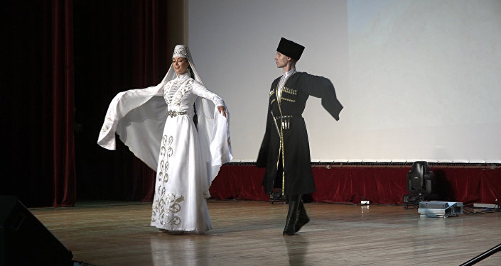 Ансамбль имени Александрова станцева хонга в Цхинвале