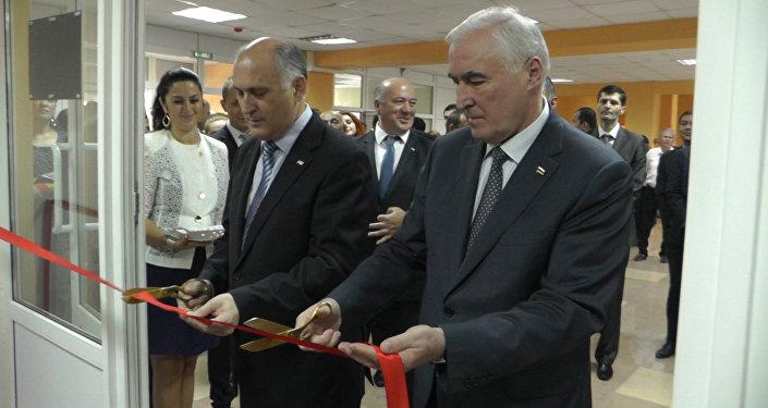 В Южной Осетии открылось посольство Абхазии