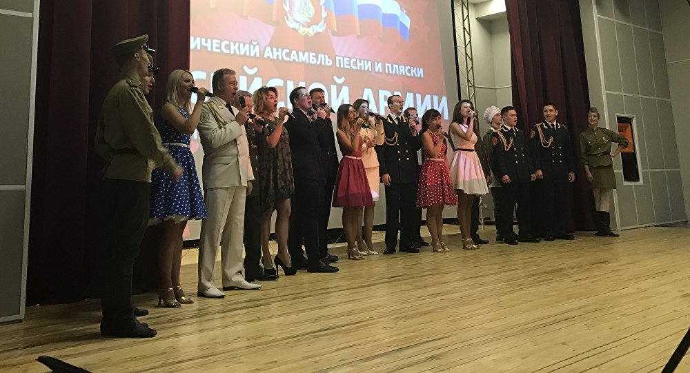 Хор им.Александрова в Ленингоре