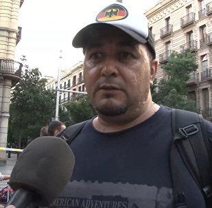 Очевидцы рассказали о теракте в Барселоне
