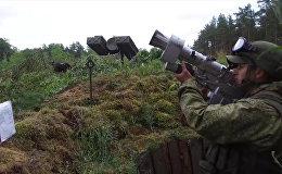 В Псковской области прошли учения десантников ВДВ