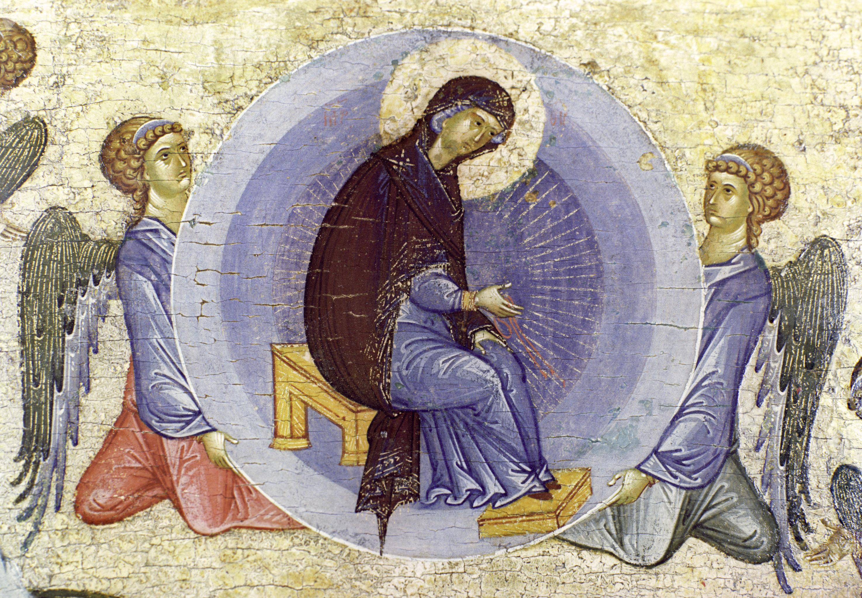 Репродукция иконы Успение Пресвятой Богородицы