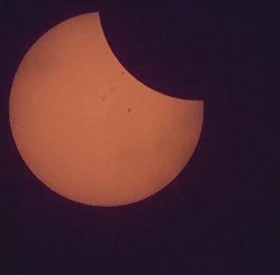 Как Америка погрузилась в мрак: кадры солнечного затмения