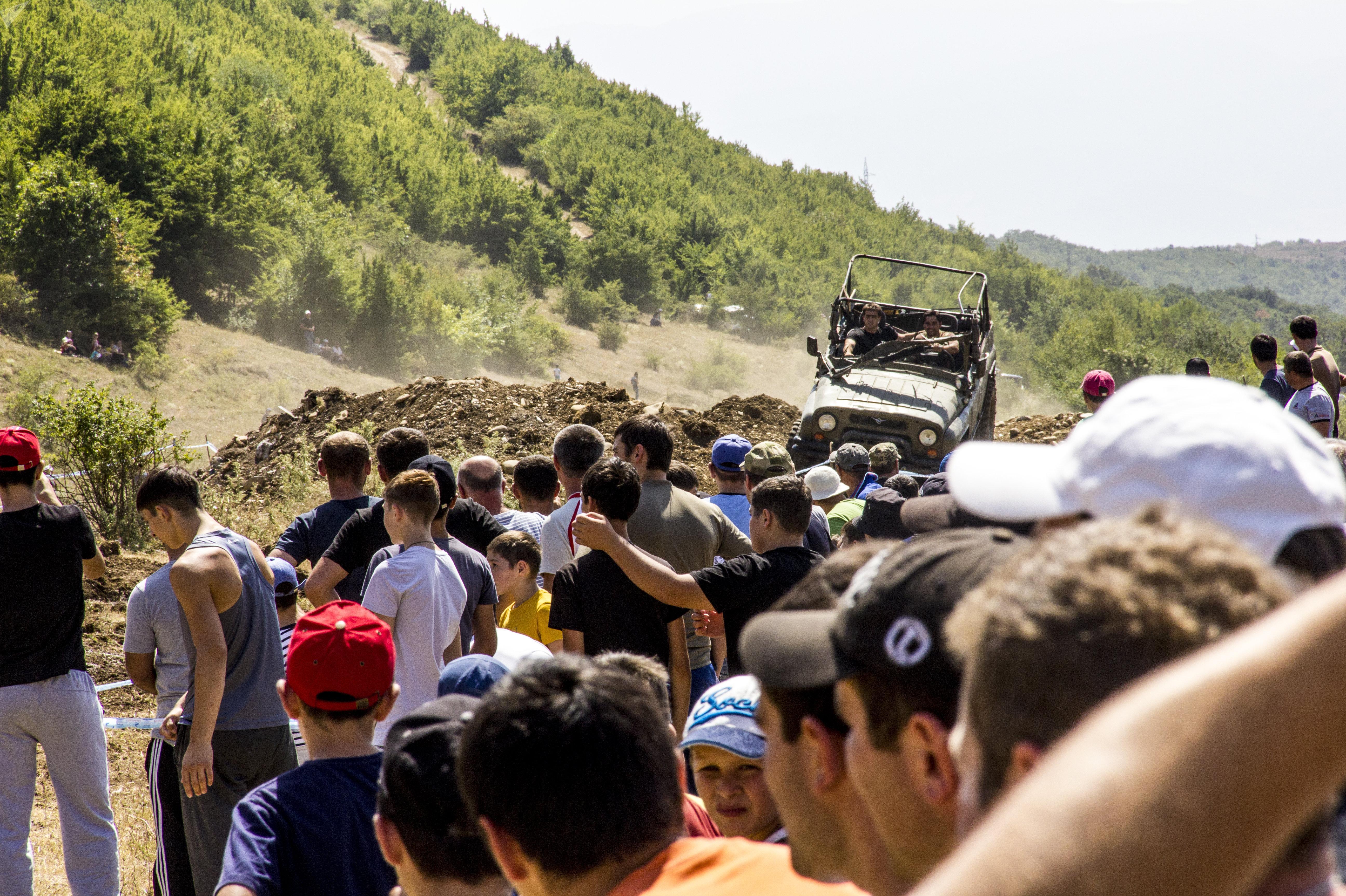 Гонки в Южной Осетии