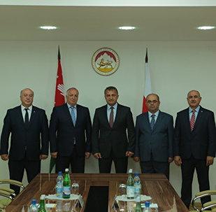 Встреча с делегацией из Абхазии
