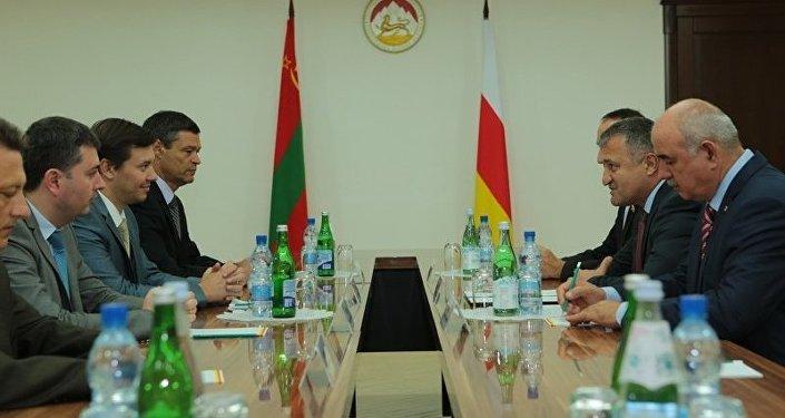 Встреча с делегацией из ПМР