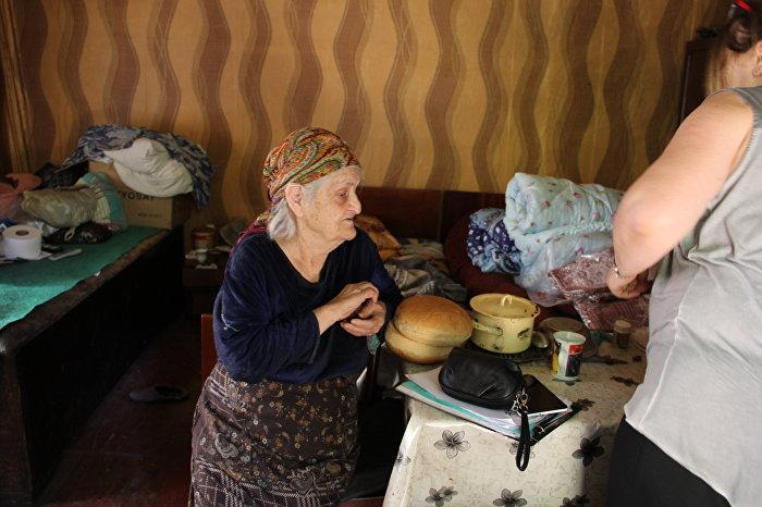 Жители Ленингора
