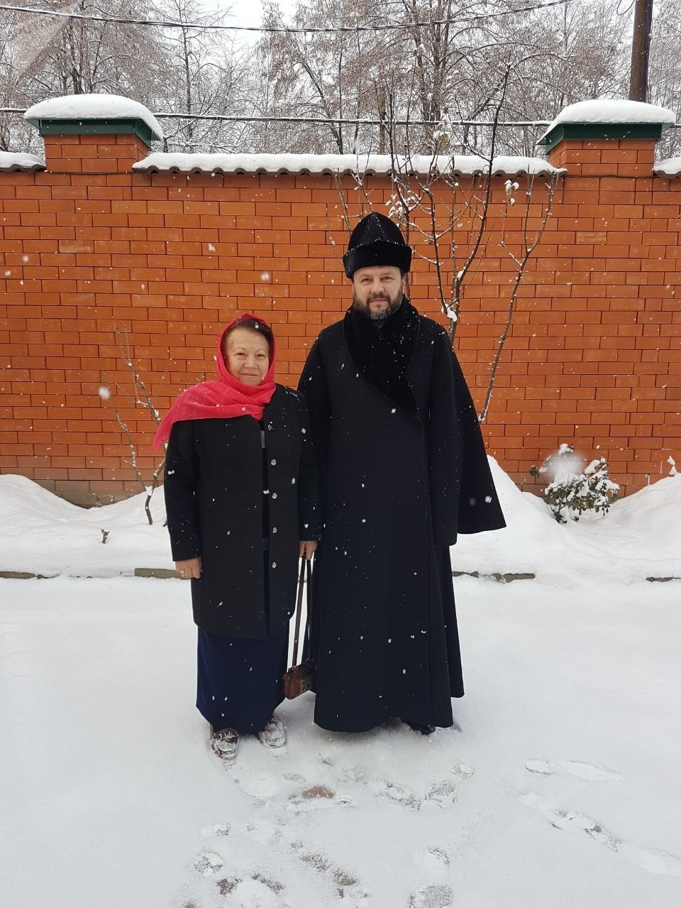 Первая настоящая зима за 19 лет. После возвращения в Россию с мамой.