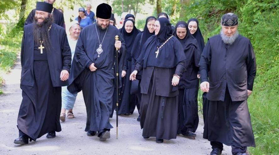 В Аланском Богоявленском женском монастыре