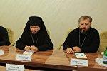Встреча президента РЮО Анатолия Бибилова с епископом Владикавказским и Аланским Леонидом