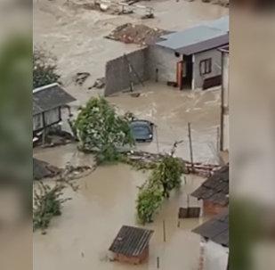Наводнение в Сухуме 1