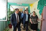 Анатолий Бибилов посетил Цхинвальский детский сад №2 Золотой ключик