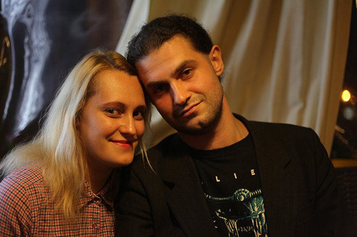 Артур Омаров и Лиза Чухарова