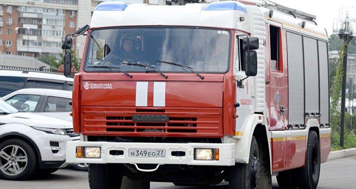 Пожарно-тактические учения МЧС