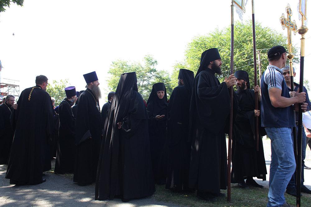 Траурные мероприятия в Беслане