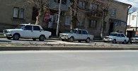 Стоянка такси в Цхинвале