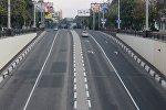 Одна из улиц в Донецке