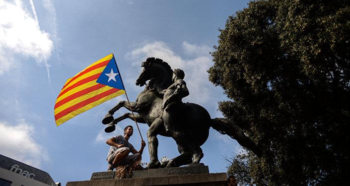 Празднование Дня Испании в Барселоне