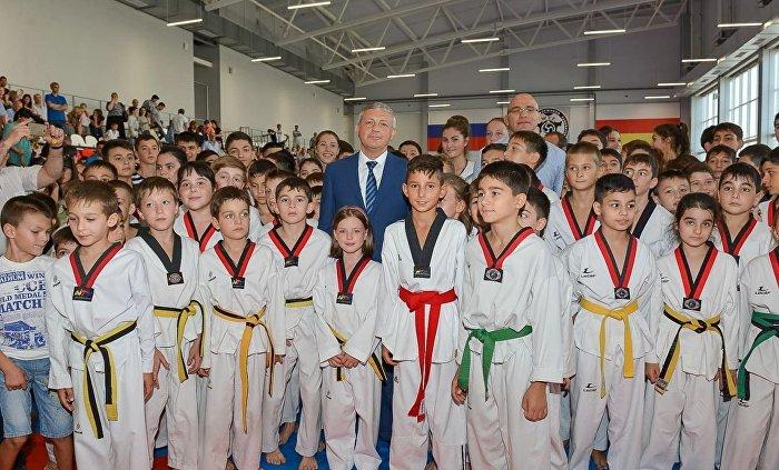 В Северной Осетии открылся первый в стране профильный дворец спорта тхэквондо