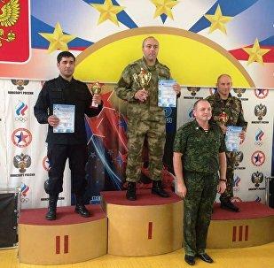 Команда Росгвардии Северной Осетии завоевала золото по самбо на чемпионате СКФО
