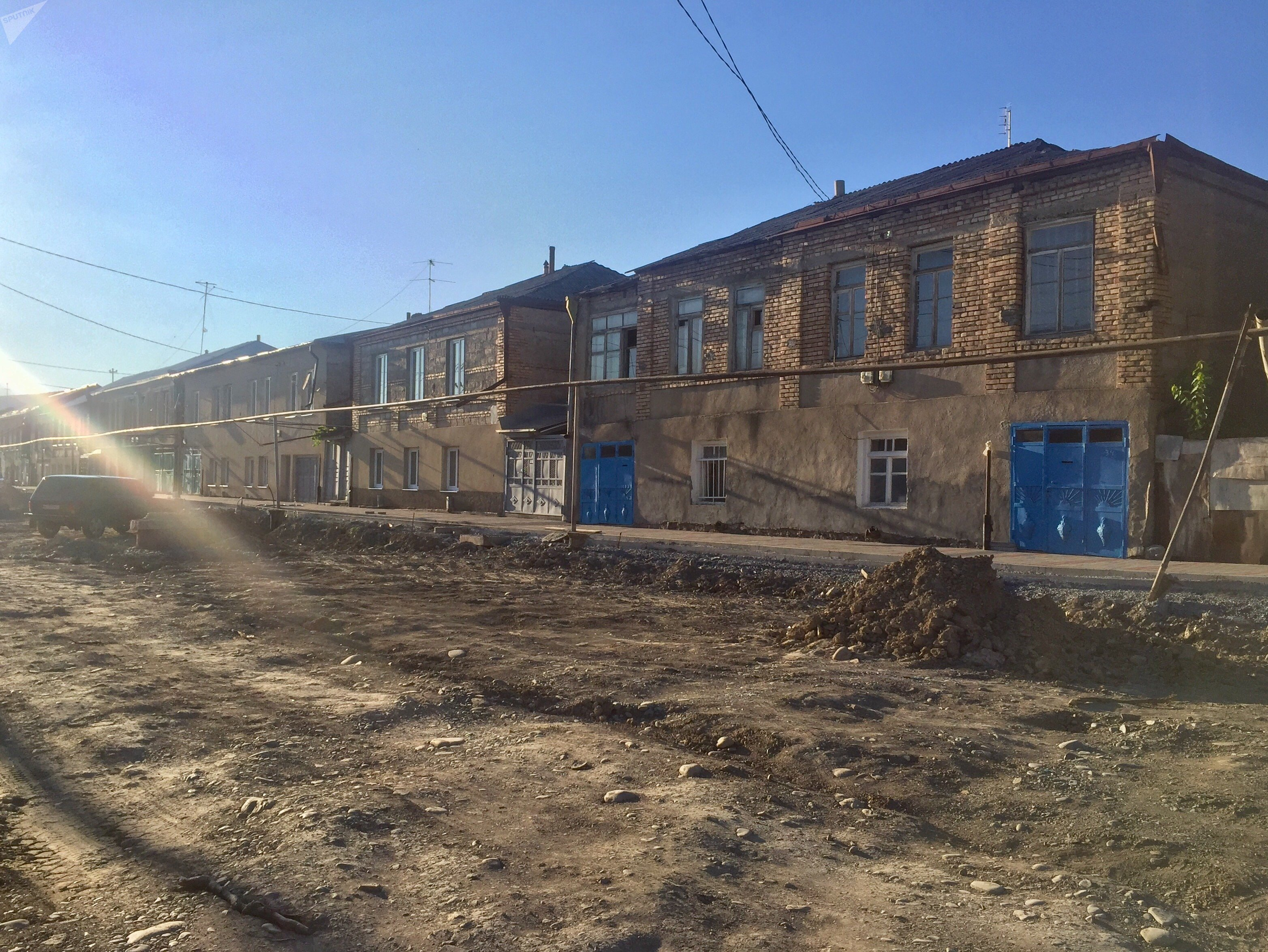 Улица Маргиева в Цхинвале