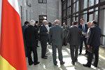 Как отмечали годовщину дипотношений Южной Осетии и России
