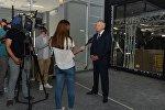 Вячеслав Битаров оценил темпы подготовки к запуску национального телевидения