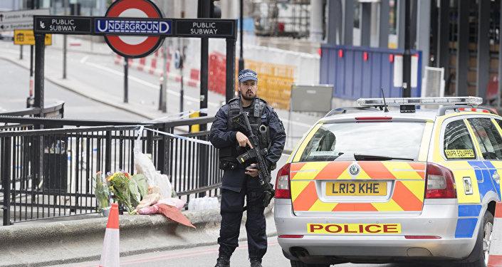 Ситуация на месте взрыва в Лондоне