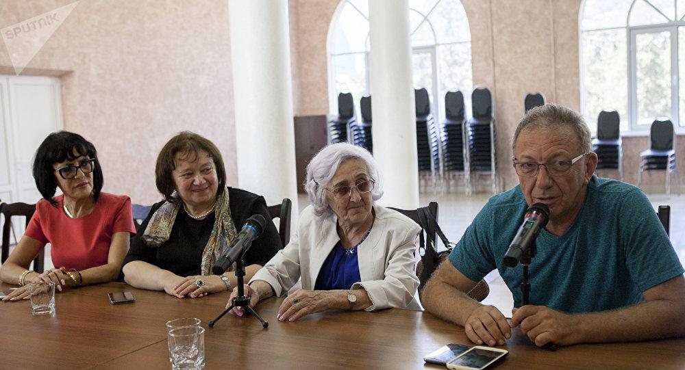 Встреча с евреями