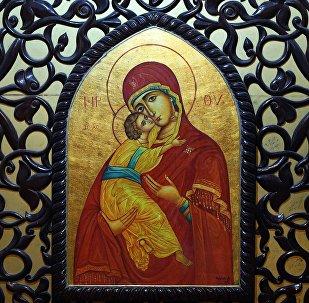 Образ Божией Матери в женском монастыре Рождества Божией Матери