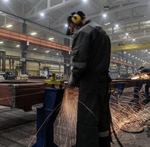 Производство новейших вагонов метрополитена Москва
