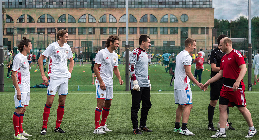 Фестиваль под названием Россия любит футбол