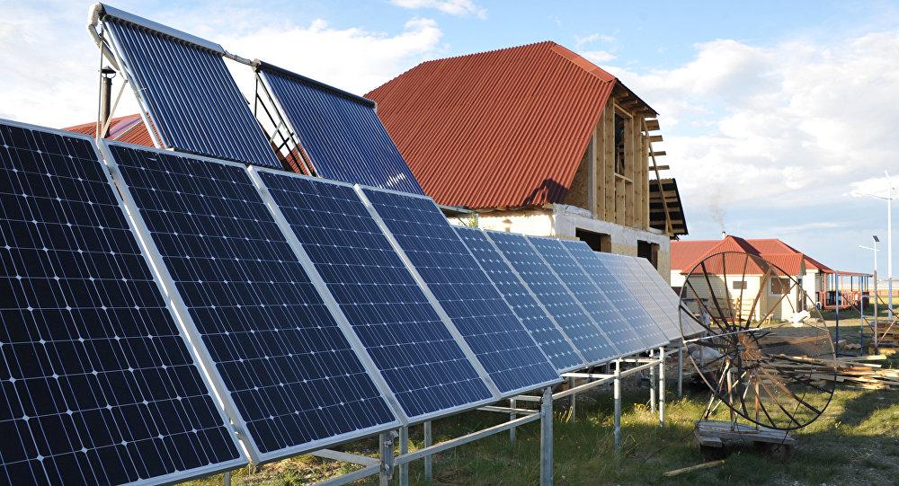 Майминская солнечная электростанция в Республике Алтай