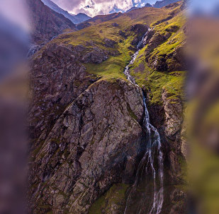 Мидаграбинские водопад