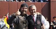 Хирург подарил мотоцикл президенту Южной Осетии