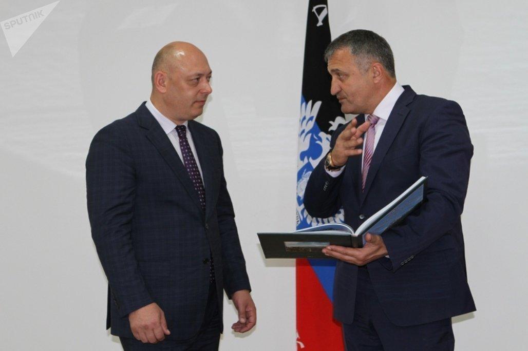 Встреча с представителем ДНР