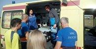 В Северной Осетии эвакуировали сорвавшихся с Казбека альпинистов
